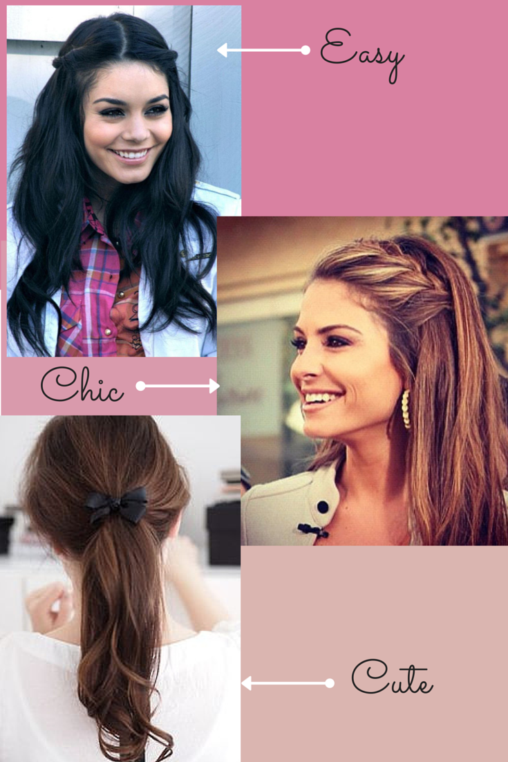 Easy And Quick Back To School Hairstyles Heatless