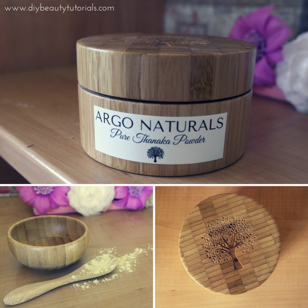 argo naturals thanaka product and wooden package