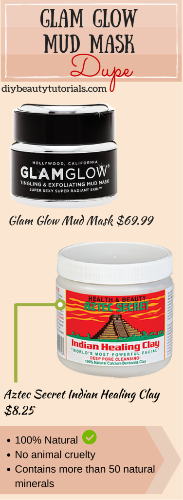 aztec secrets indian healing clay dupe of glam glow mud mask