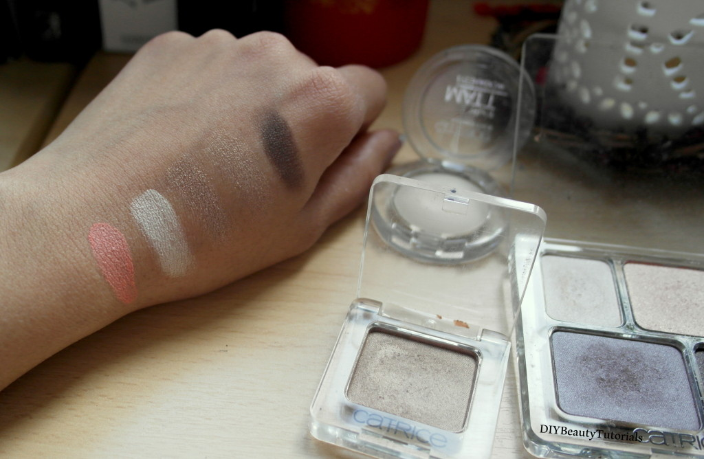 catrice eye shadow swatches