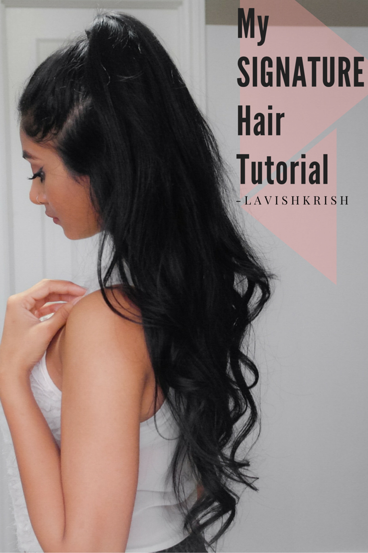 New Video Half Up Half Down Hair My Signature Hairstyle Tutorial