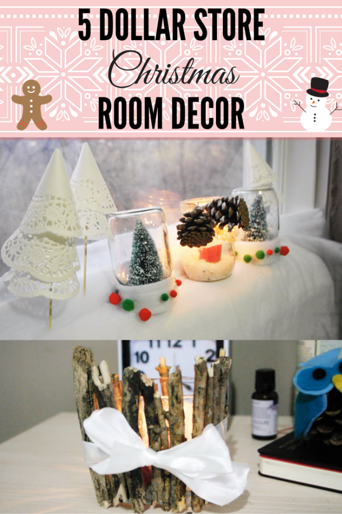 5 Dollar Store DIY Room Decor for Christmas