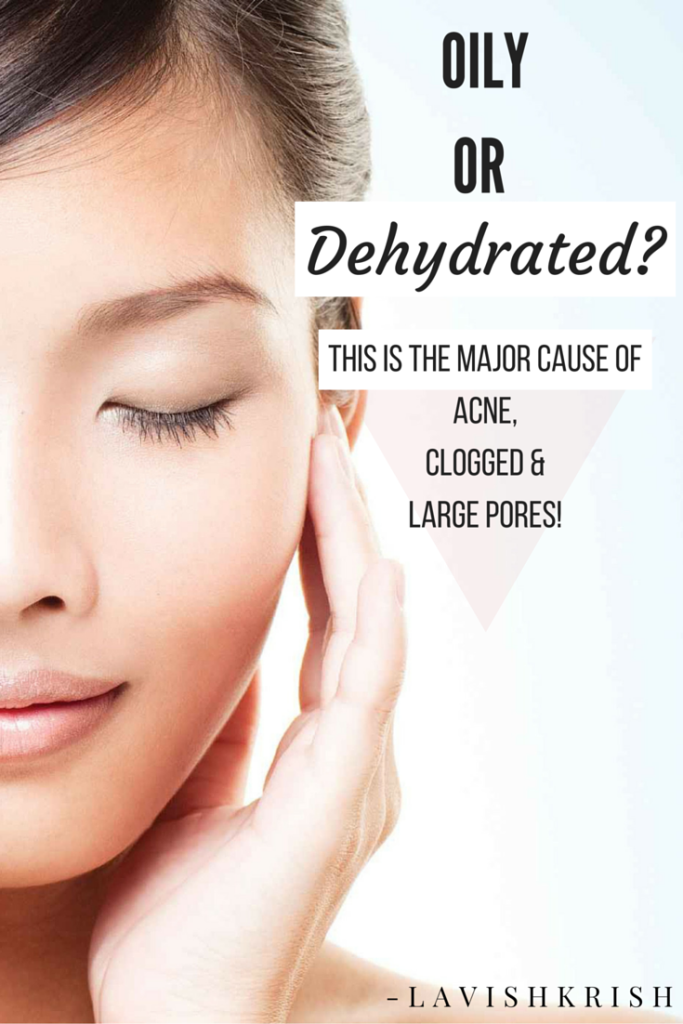 Are You Sure Your Skin is OILY? Or Dehydrated? | Diminish Acne, Clogged pores etc...