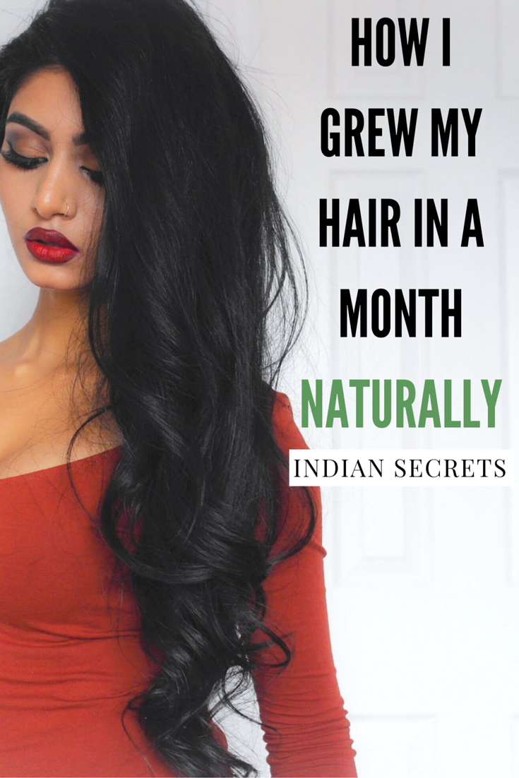 a88bd957788 How I Grew My Hair Long   Thick NATURALLY in A Month