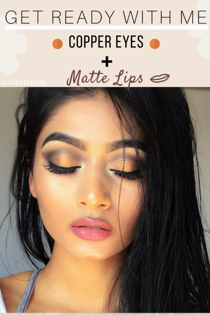 GET READY WITH ME | Copper Eyes & Casual Outfit | Lavish Krish