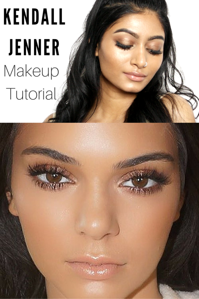 Kendall Jenner Inspired Makeup Tutorial | Bronzy + Glowy