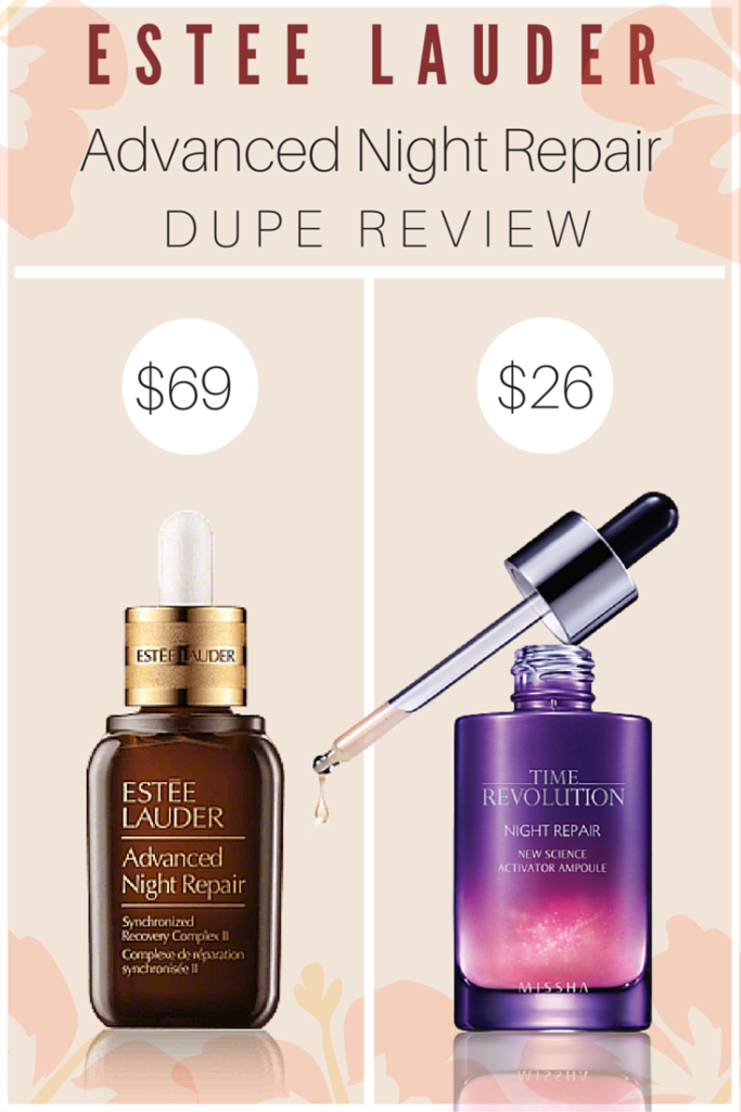 Anti-Aging Serum: Missha Time Revolution Night Repair Science Activator Ampoule Review