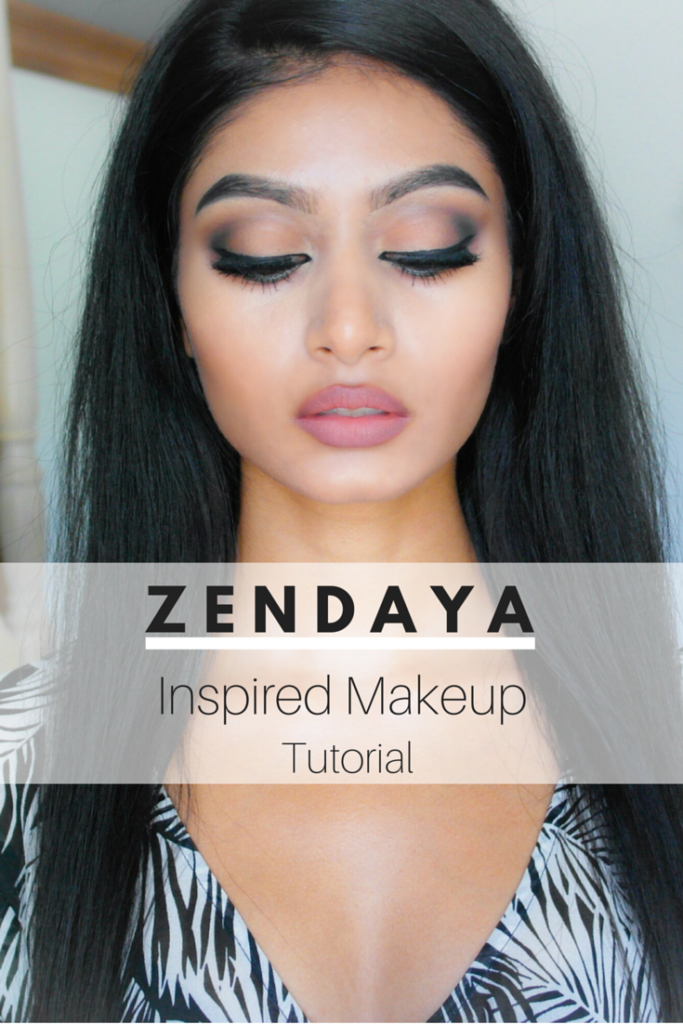 zendaya inspired drugstore makeup tutorial
