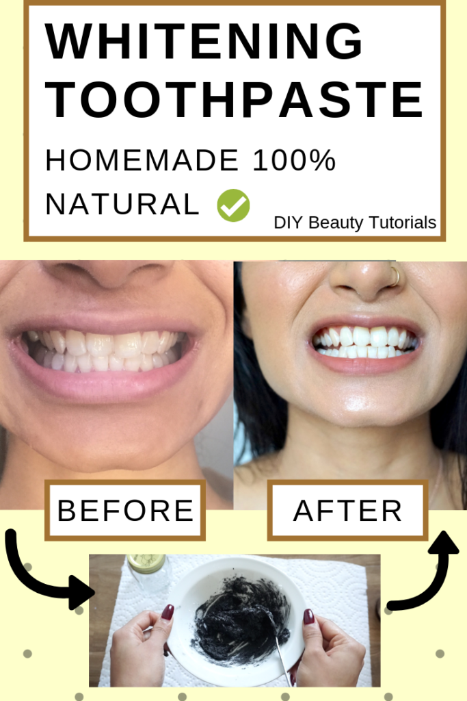 homemade natural whitening toothpaste